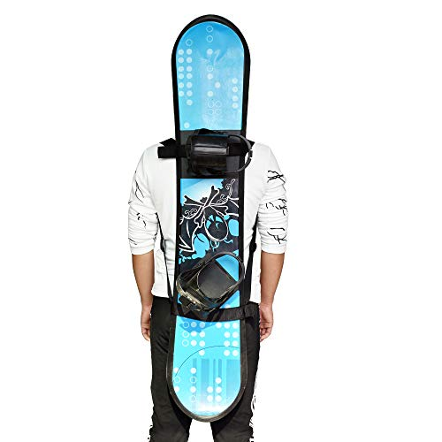 YYST Snowboard Backpack Carry Strap Snowboard Shoulder Strap Backpack Carrier - No Board - Free Your Hands (1)