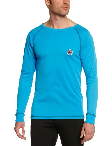 Nebulus THERMOSHIRT Aspen, heren, zwart, thermische ondergoed shirt (Q624)