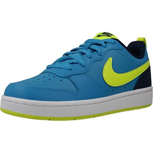 NIKE Court Borough Low 2 (GS), Zapatos de Baloncesto para Niños