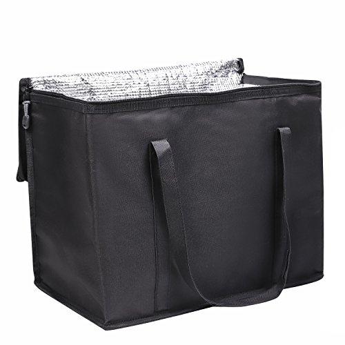 DELEBAO Kühltasche Lunchtasche Reisenthel Coolerbag Picknicktasche Kühltasche Faltbar Thermotasche Kühltasche Mittagessen Tasche Isoliertasche 30L