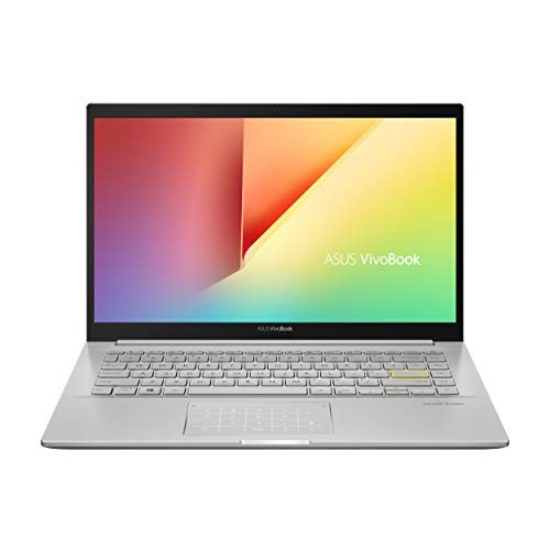 ASUS VivoBook 14 K413EA-EB608T - Ordenador Portátil de Full HD (Intel Core i7-1165G7, 8GB RAM, 512GB SSD, Intel Iris Xe Graphics, Windows 10 Home) Plata Transparente-Teclado QWERTY español