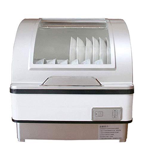 LKNJLL Red Tide Lave-vaisselle à usage domestique Utilisation, désinfection intelligente entièrement automatique, avec 7 litres intégré Réservoir d'eau, 5 programmes, Baby Care, Verre et Fruit Wash-Bl