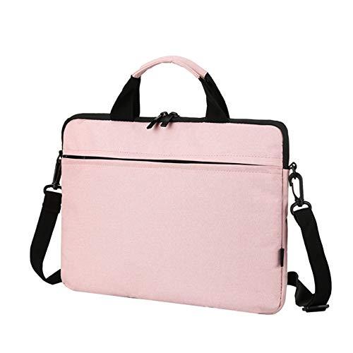 Bolen Men and Women Business Travel Computer Backpack, Anti-Theft Fashion College School Bag, Multi-Functional Fashion Trend Travel Bag, Leisure Shoulder Laptop Handbag, Student School Bag_Pink