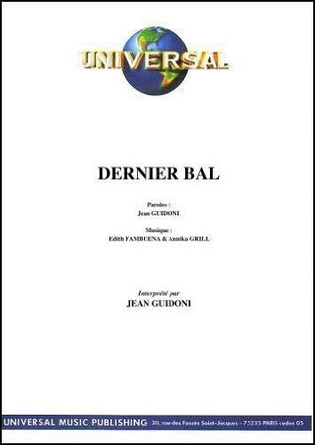 DERNIER BAL