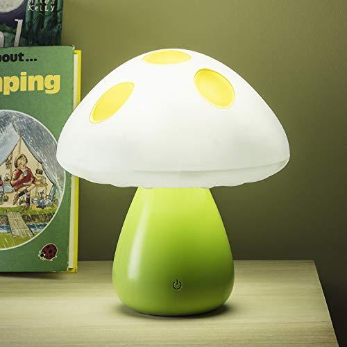 Preisvergleich Produktbild Lights4fun LED Nachtlicht Pilz Farbwechselnd mit Touchsensor & USB