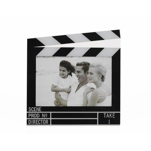 HAB & GUT -FR011- Marco de Fotos CLAQUETA de Cine para Fotos del Formato 14,5 x 9,5 cm