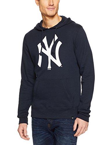 47_brand Sudadera Capucha MLB New York Yankees Fall Azul S (Small)