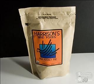 鳥用 有機ペレット Harrison ハリソン ハイポテンシー 小粒F