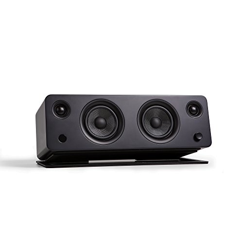 Kanto SYD Activlautsprecher mit Bluetooth und Phono Vorverstärker - Schwarz