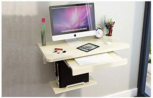 Aan de muur gemonteerde computertafel bureau aan de muur gemonteerde computertafel bureau voor privégebruikers computerwerkplek, aan de muur gemonteerde make-uptafel (kleur: D)