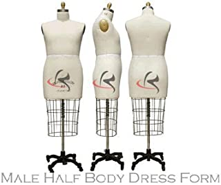 (ST-SIZE24) ROXYDISPLAY™ Female Professional Dress Form Mannequin with Collapsible Shoulders Size 24