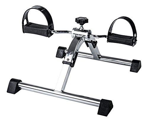 Sport-Thieme Pedaltrainer klappbar   Kompakt, Leichter Mini-Bike Heimtrainer für Arme und Beine   Für Senioren, Büro, Schreibtisch   48x42x28,5 cm   2,5 kg   Metall, Kunststoff