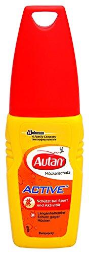 Autan Active Pumpspray, 1er Pack (1 x 100 ml)