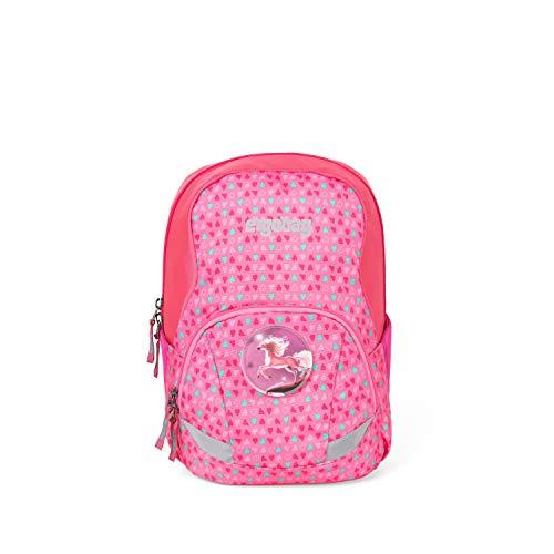 ergobag Ease Large - Freizeitrucksack, Kindergartenrucksack, 10 Liter, 370 g - Konfetti - Pink
