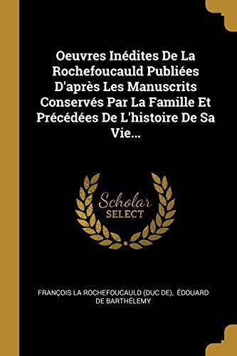 FRE-OEUVRES INEDITES DE LA ROC