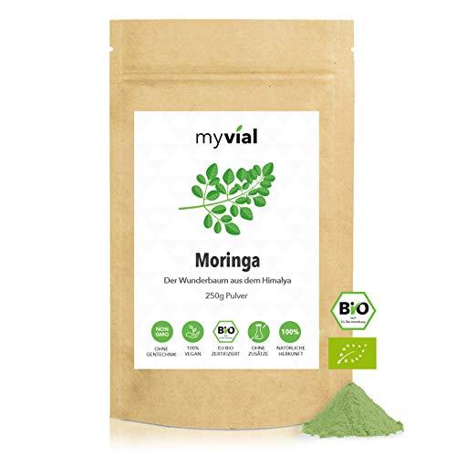 myvial® Moringa Pulver Bio 250g   100% naturrein