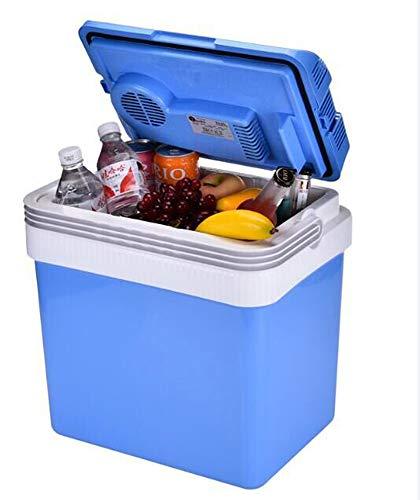 HCCX 25 L autokoelkast, 220 V, kleine koelkast/vrieskast 12 V, dubbele gebruiksmogelijkheid, kleine koelkast, kamer, constante temperatuur box