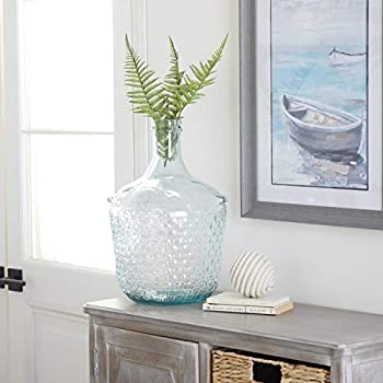 Deco 79 18221 Glass Wide Bottle Vase 10  x 17
