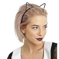 LIFE子供黒猫耳ファッションレディーガールヘッドバンドヘアバンドセクシーな自己ヘッドバンドベビー誕生日パーティー女性のためのフープヘッドバンド 汗止め