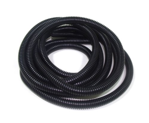 Taylor Cable 38110 Black Convoluted Tubing