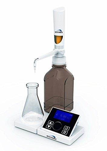 Scilogex 731301059999 iTrite Electronic Digital Motorized Bottle Top Burette, 0.01-99.99 mL, 50/60 Hz, 110-240V