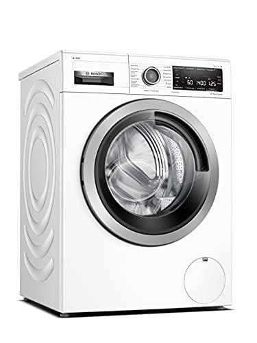 Bosch WAV28K43 Serie 8 Waschmaschine Frontlader / A / 48 kWh/100 Waschzyklen / 1400 UpM / 9 kg / Weiß / i-Dos / 4D Wash System / Automatik-Programme / Home Connect