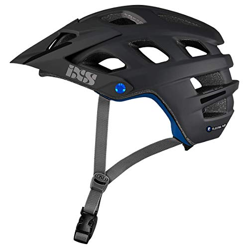 IXS Trail Evo Electric Plus E-Bike Edtion Helm MTB/Cycle/VAE Erwachsene Unisex Schwarz, SM (54-58 cm)