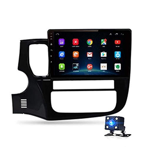 KLL 10.1' HD Radio De Coche GPS Navegador Reproductor Multimedia Digital CKLLaacute;Mara De Marcha AtrKLLaacute;s 4G Am/FM Bluetooth Ajuste para Mitsubishi Outlander 3 GF0W GG0W 2012-2018