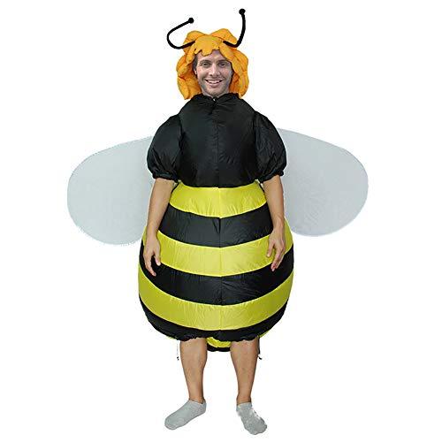Delili Aufblasbares Kostüm, Aufblasbare Kleidung Für Halloween-Bienen, Festival Event Wettbewerb Kostüm Cartoon Puppenkostüm