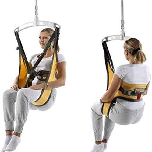 DLLY Ganzkörper-Patientenlifter Sling Treppenrutsche Transfergurt, Medium Toileting Sling Notevakuierung Stuhl Auf Und Ab, Für Bariatric Handicap Ältere