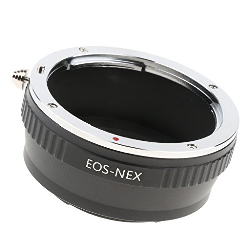 D DOLITY fotografía Accesorios Anillo Adaptador para Canon EOS a Sony Alpha NEX E Adaptador