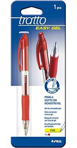 Tratto Pen Easy Gel Rossa, Multicolore, FIL052