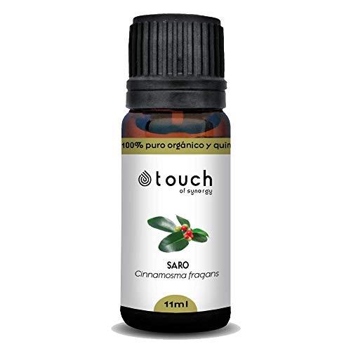 Aceite esencial de Mandravasarotra (Cinnamosma fragrans) 100% Puro, orgánico y quimiotipado (11mL)