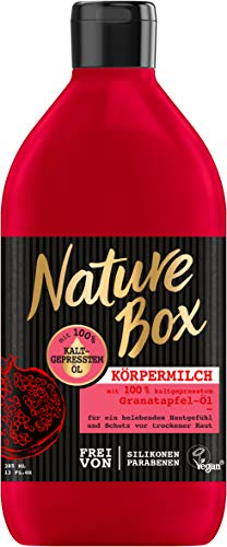 Nature Box Body Lotion Granatapfel-Öl, 1er Pack (1 x 385 ml)
