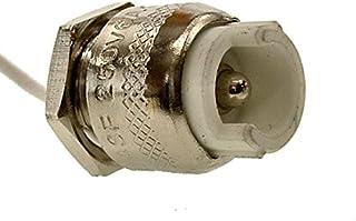 Casquillo R7s con cable de teflón de 25cms