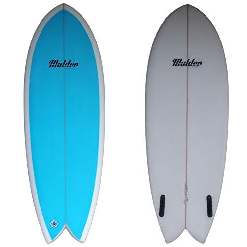 Mulder Shapes Mulderson Tabla Surf, Adultos Unisex, Tintada Azul, 5'2