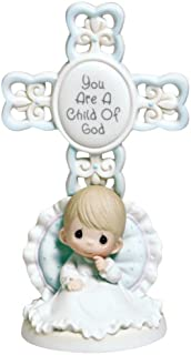 Precious Moments You Are A Child Of God Bisque Porcelain Cross