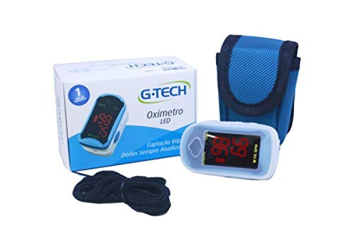 Oximetro De Pulso Portatil De Dedo Led G-tech