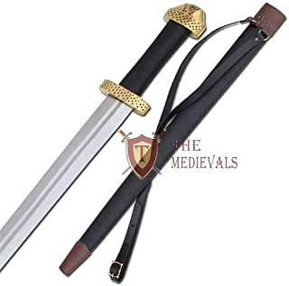 The Medieval Shop Medeival Viking 9Th Century Handcrafted Steel Functional Battle Sword Replica