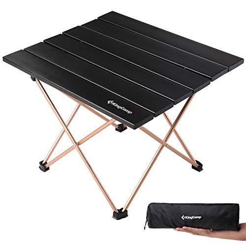 KingCamp Mini Alu Rolltisch Beistell Falt Klapp Tisch Camping Faltbar Leicht 1kg