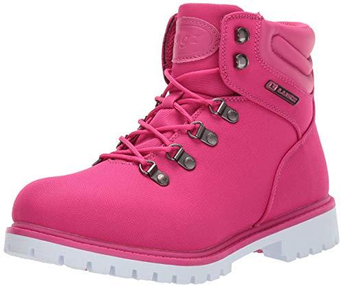 Lugz Women's Grotto II Fashion Boot, deep Pink/White, 8.5 M US