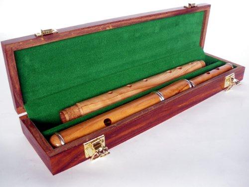 Keyless-Traditionelle irische Flöte Holz Flöte in, Cocusholz