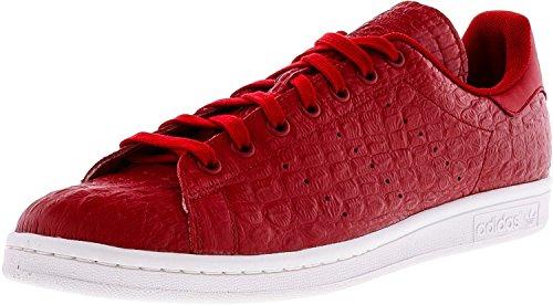 Adidas Originals Herren Stan Smith Vulc Laufschuh, Rot (Rot / Reptilienoptik), 45 EU