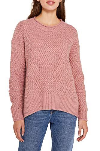 edc by ESPRIT Damen 119CC1I005 Pullover, Rosa (Old Pink 5 684), Medium (Herstellergröße: M)