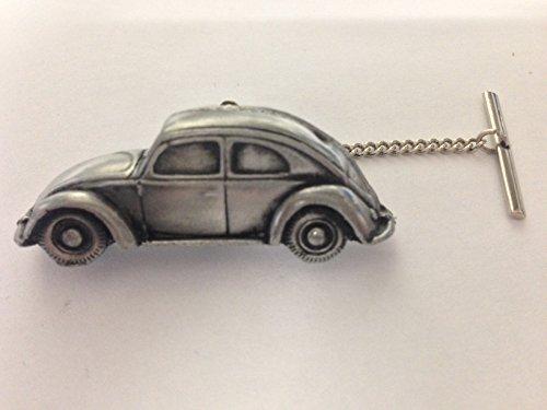 VW Beetle (Split Rear Bildschirm) 3D Auto Tack Krawattennadel mit Kette ref289