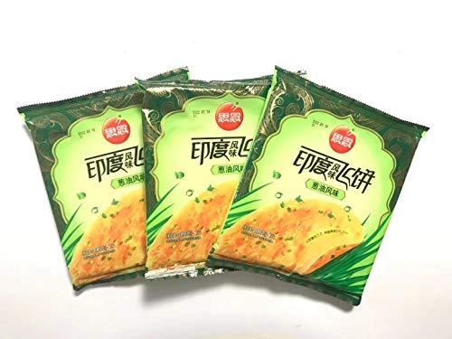 思念印度風味飛餅 【3点セット】 葱油風味 インド風味ネギパンケーキ 300g×3点