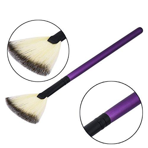 Euiristore Pinceau de maquillage pour le visage, les joues Pinceau pour poudre bronzante 1 Pc
