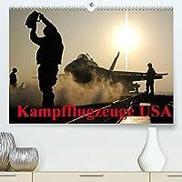 Kampfflugzeuge USA (Premium, hochwertiger DIN A2 Wandkalender 2022, Kunstdruck in Hochglanz): Die Faszination der militaerischen Flugzeugtechnik (Monatskalender, 14 Seiten )