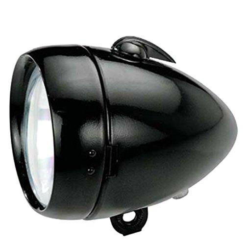 Leuchtturm Spot Licht vorne Metalica schwarz Klassischer Retro kurze und lange Dynamo 3889
