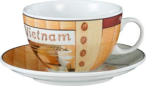 Seltmann Weiden VIP. Milchkaffeetasse 1164 0,37 m. Untertasse Vietnam